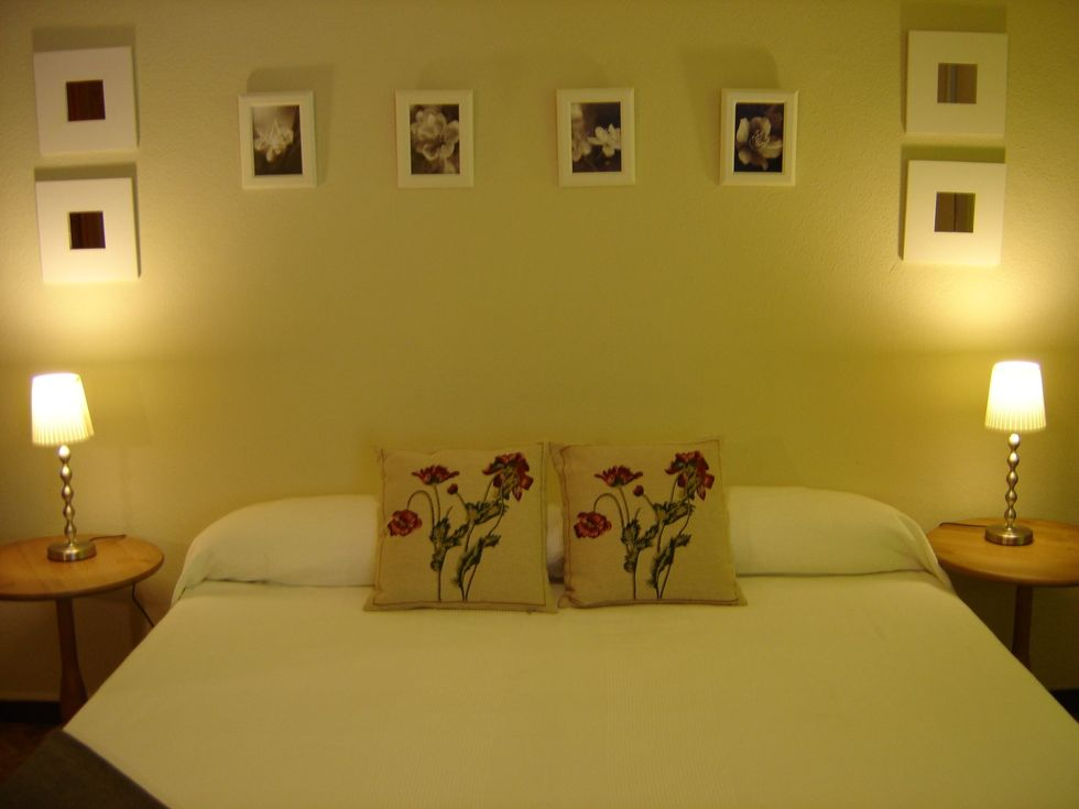 Batllo room - Double bed with one or two additional beds or three single beds